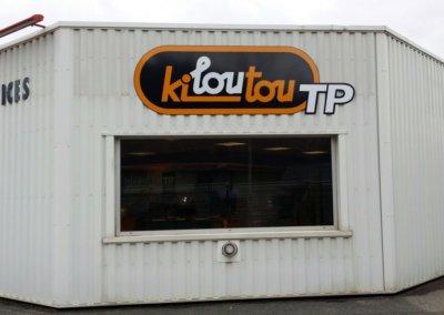 Enseigne panneau à Annecy pour Kiloutou