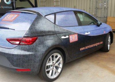 Car Wrapping - Covering de véhicule par SES (Grigny-Lyon)