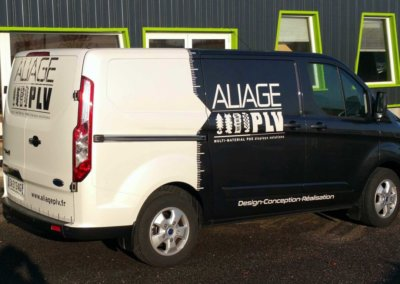 Vos Covering à Lyon: Flocage véhicule -Covering de véhicule pour Aliage PLV