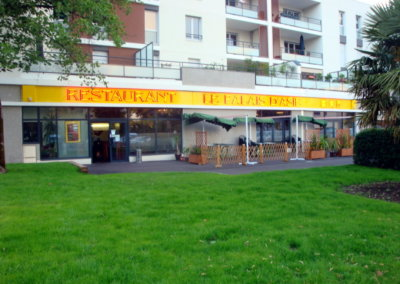 Vos  enseignes néons à Lyon: Enseigne lumineuse avec néons à proximité de Lyon pour le Palais d'Asie (Francheville)