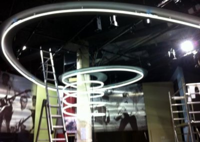 Vos  enseignes néons à Lyon: Spirales Néon par SES (Grigny-Lyon)