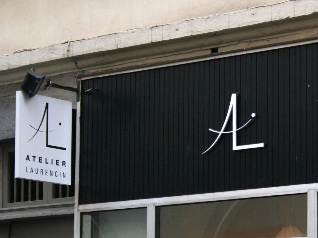 Enseigne à Lyon pour Atelier Laurencin (69002 LYON)