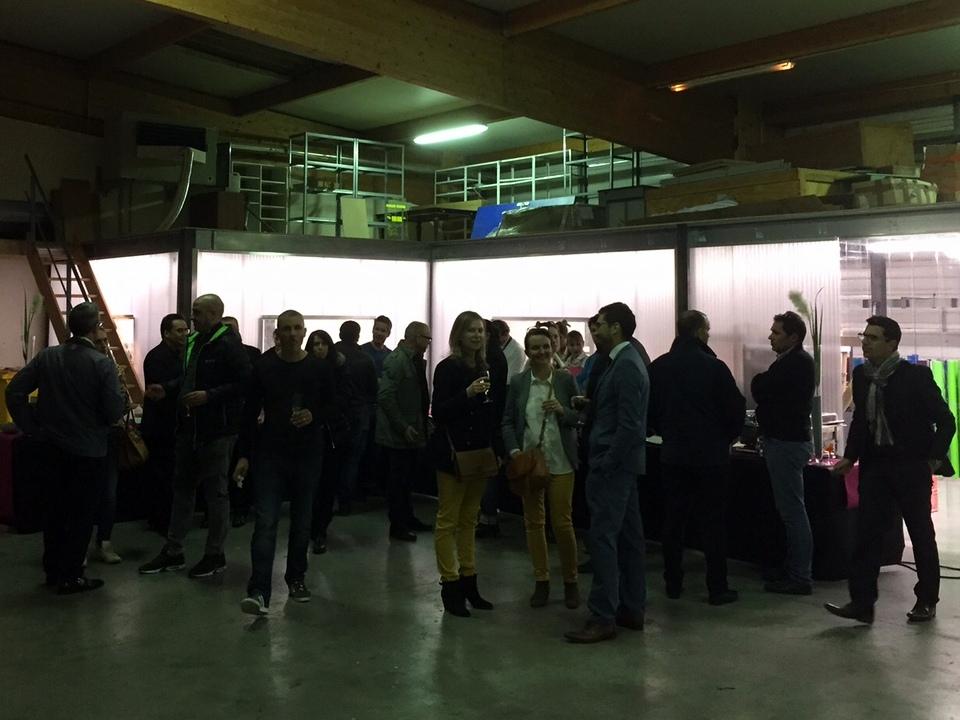 Inauguration des ateliers de fabrication de Services Enseignes Signalétiques - SES - 69520 GRIGNY