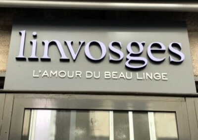 Enseigne bandeau à Saint Etienne pour Linvosges Saint Etienne (42000)