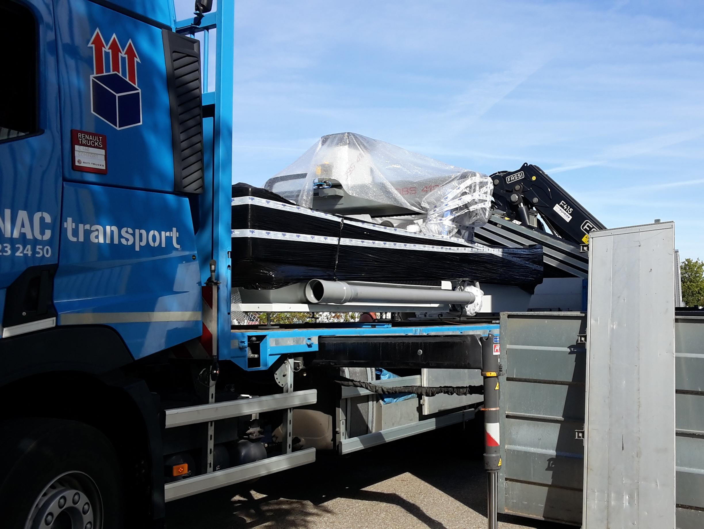 Nouvelle Fraiseuse de découpe numérique 3 axes chez SES à Grigny ( à proximité de Lyon)