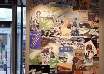 Enseigne à Saint Etienne Panneau impression numérique intérieur boutique par Services Enseignes Signalétique ( Grigny - Lyon)
