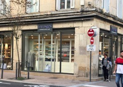 Enseigne Linvosges Saint Etienne par SES (Grigny- Lyon)