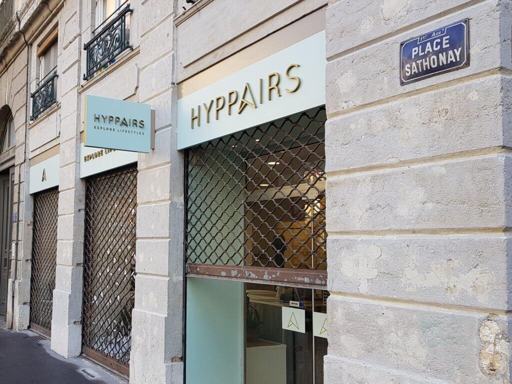 Enseignes Lyon pour Hyppairs