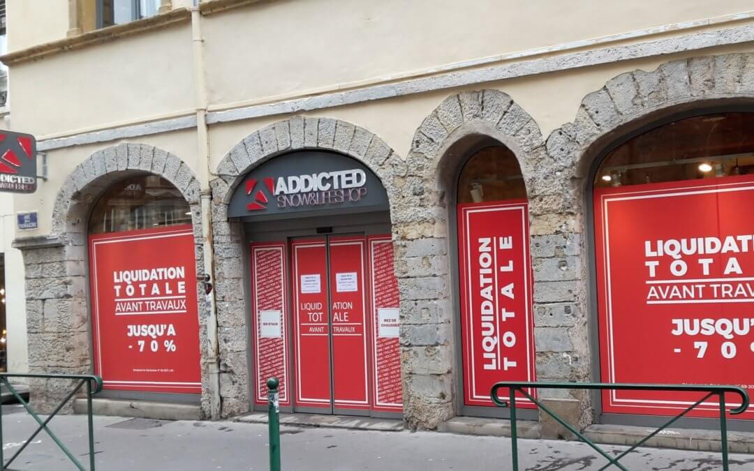 Vitrophanie à Lyon