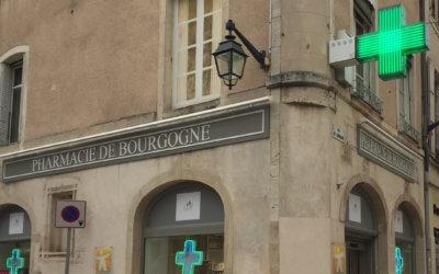 Enseignes Pharmacie de Bourgogne à Beaune