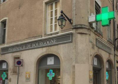 Enseigne et éclairage à Beaune par SES Lyon- Grigny