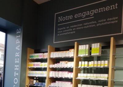 Vos enseignes à Lyon - Adhésifs - Stickers Lyon - Pharmacie Lyon Sainte Blandine