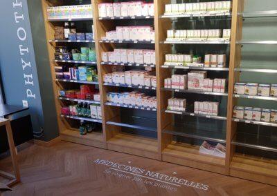 Vos enseignes à Lyon - Adhésifs sol signalétique Lyon - Pharmacie Sainte Blandine