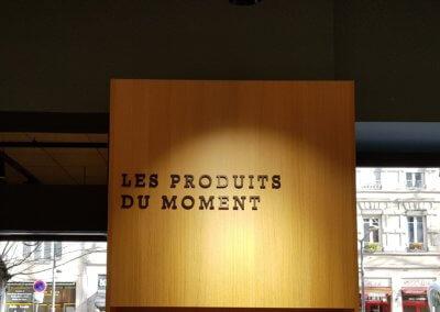 Vos enseignes à Lyon -Enseigne - Signalétique intérieure Lyon Pharmacie Sainte Blandine