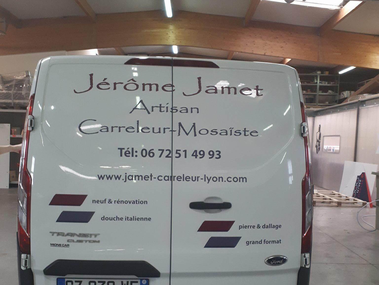 Covering Lyon Transit Custom