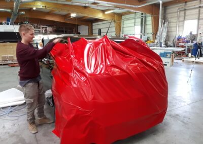 Covering Lyon- Car Wrapping SES Grigny