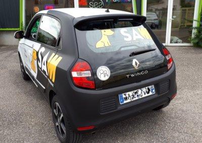 Car Wrapping-Covering Lyon pour SAM Rhône
