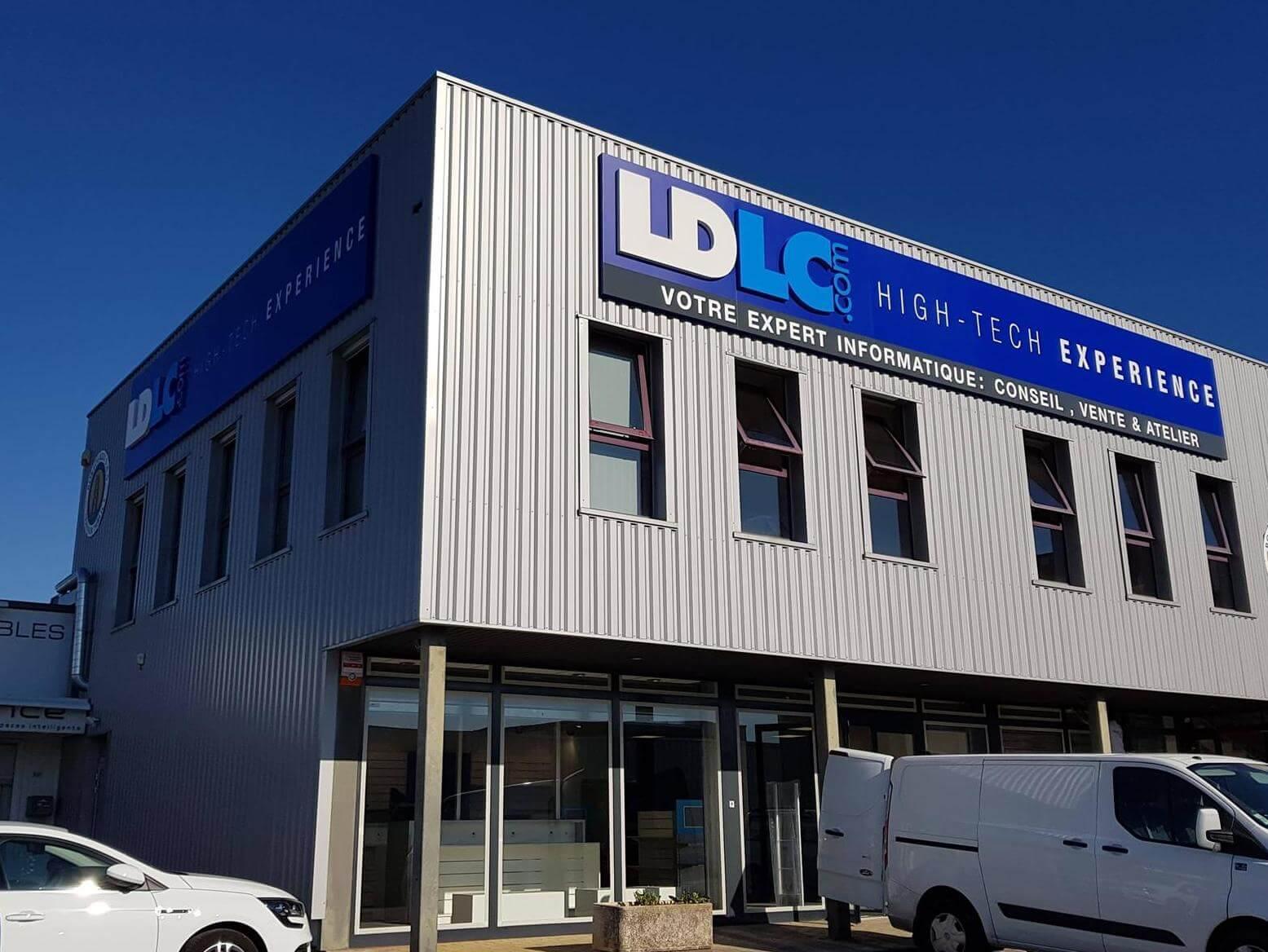 Votre enseigne à Lyon -Enseignes Lumineuses LDLC.com Epagny -Annecy