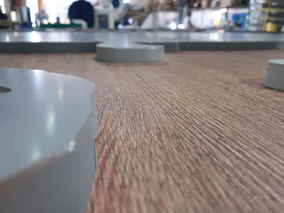Fabrication enseigne lumineuse à Lyon par SES Grigny- Lyon pour siège social Cerise et Potiron -Corbas