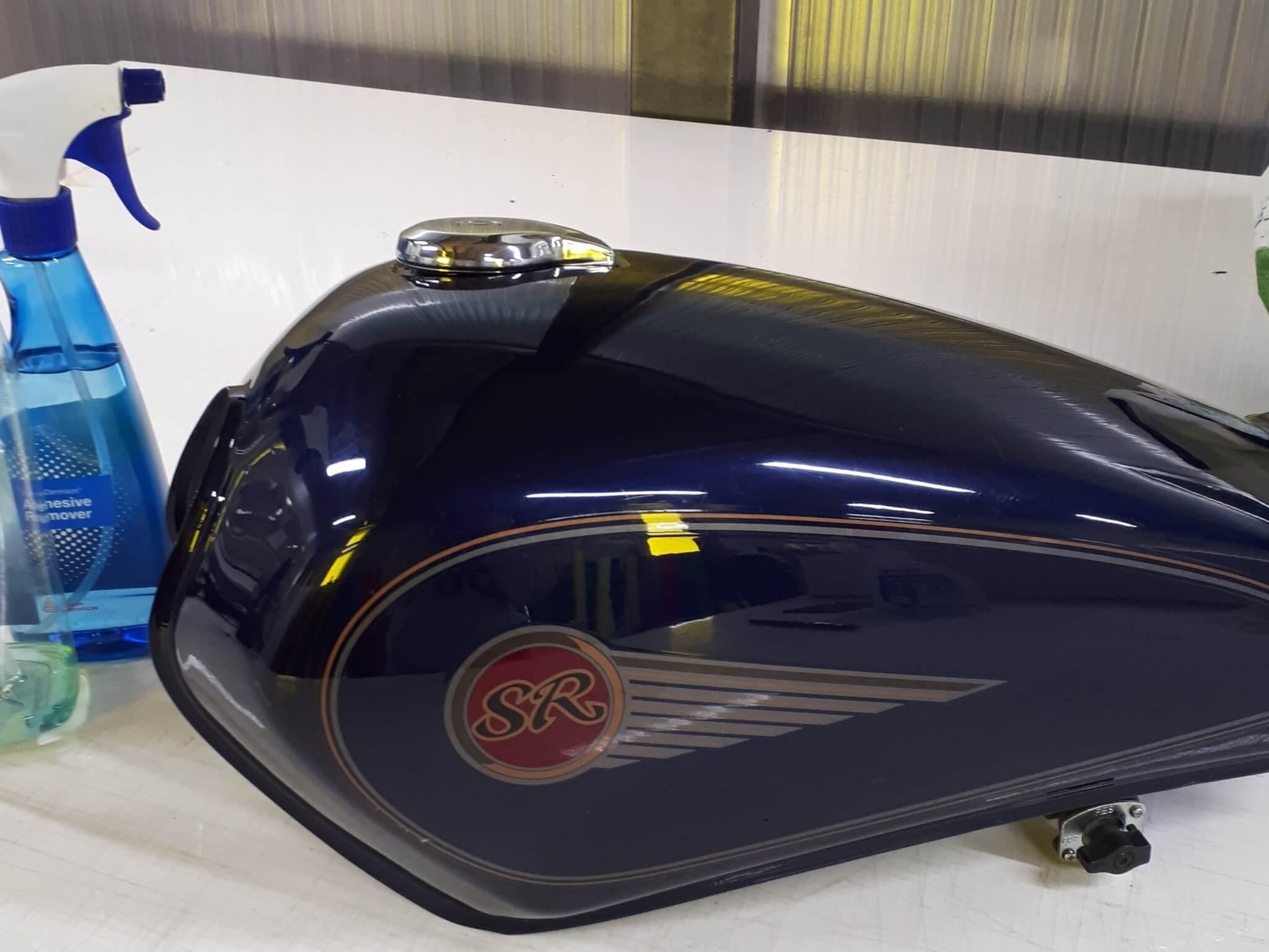 Covering moto- réservoir avant Coverinf  - SES Grigny -Lyon