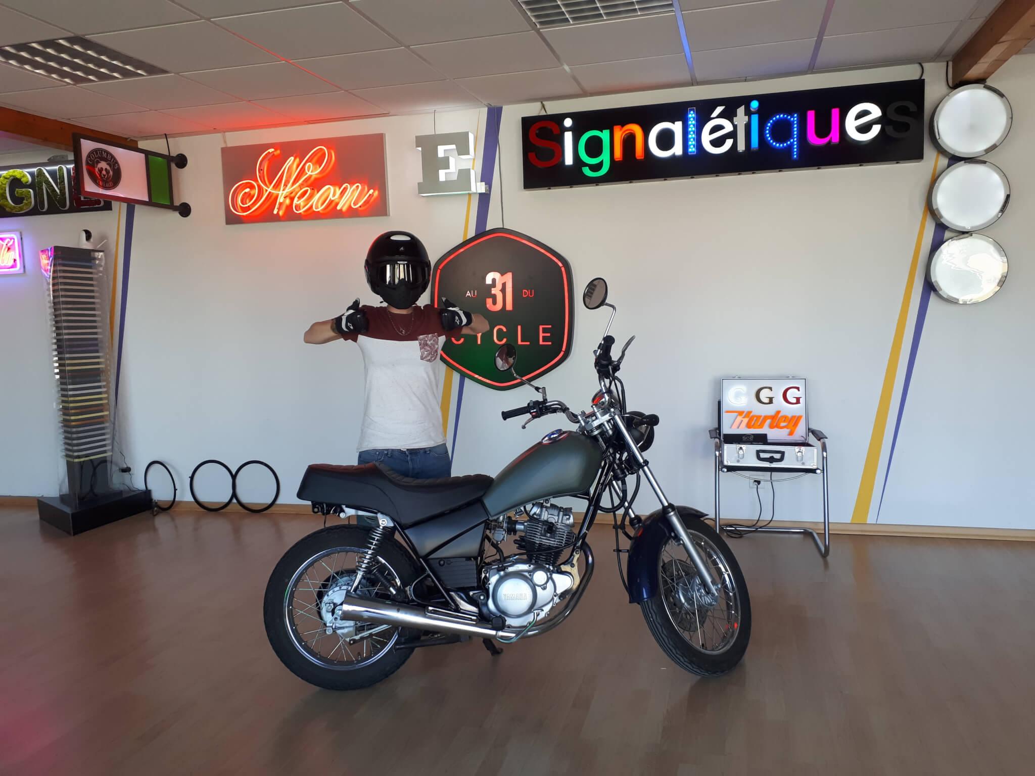 Covering moto- version finale- SES Grigny -Lyon
