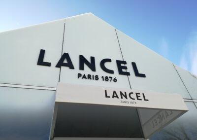 Votre enseigne à Lyon - Enseigne Lancel Villefontaine - SES Grigny Lyon