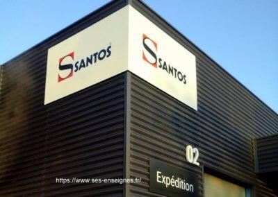 Enseignes Fabrication et installation SES Grigny Lyon -Rhône