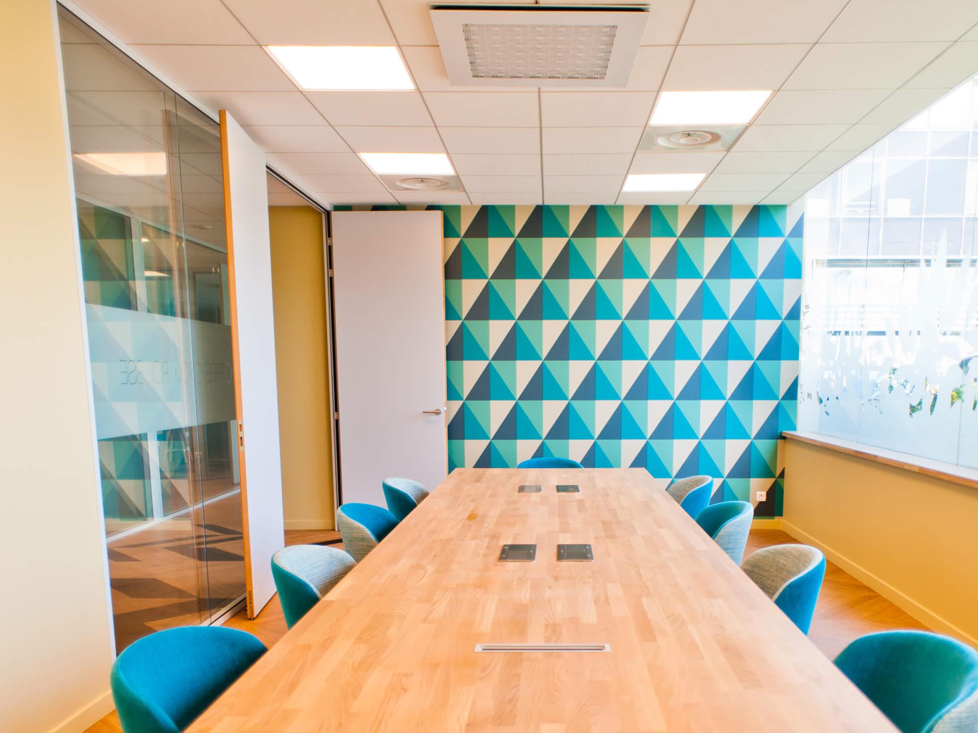 Vitrophanie Bureau Lyon- SES Grigny Lyon- Enseigniste- Fabrication et installation d'enseignes