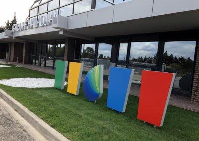 Enseigne Lumineuse Groupe Haladjian et Totems SES Grigny- Lyon