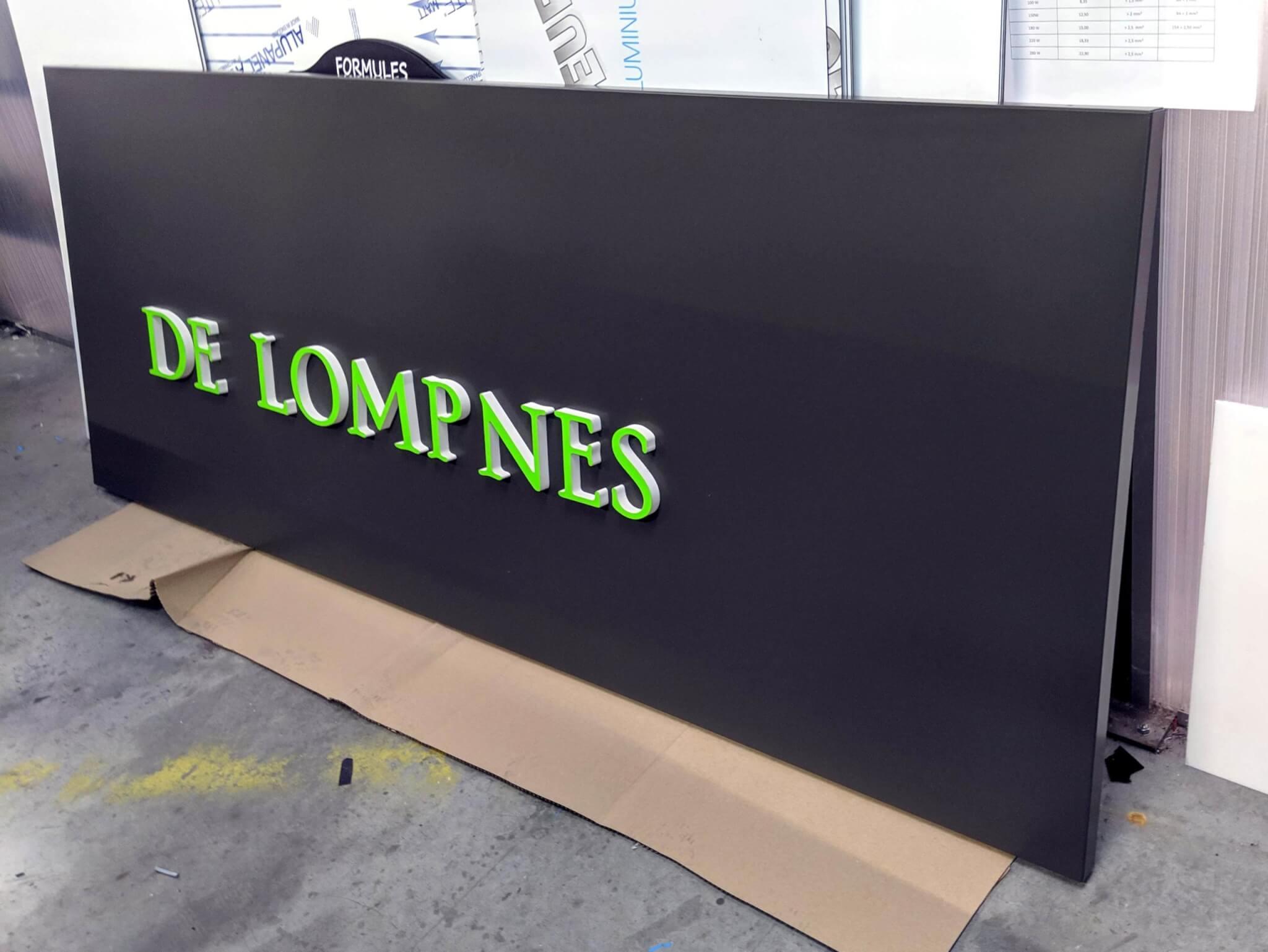 Bandeau Façade - Enseigne Pharmacie Lyon- SES Grigny