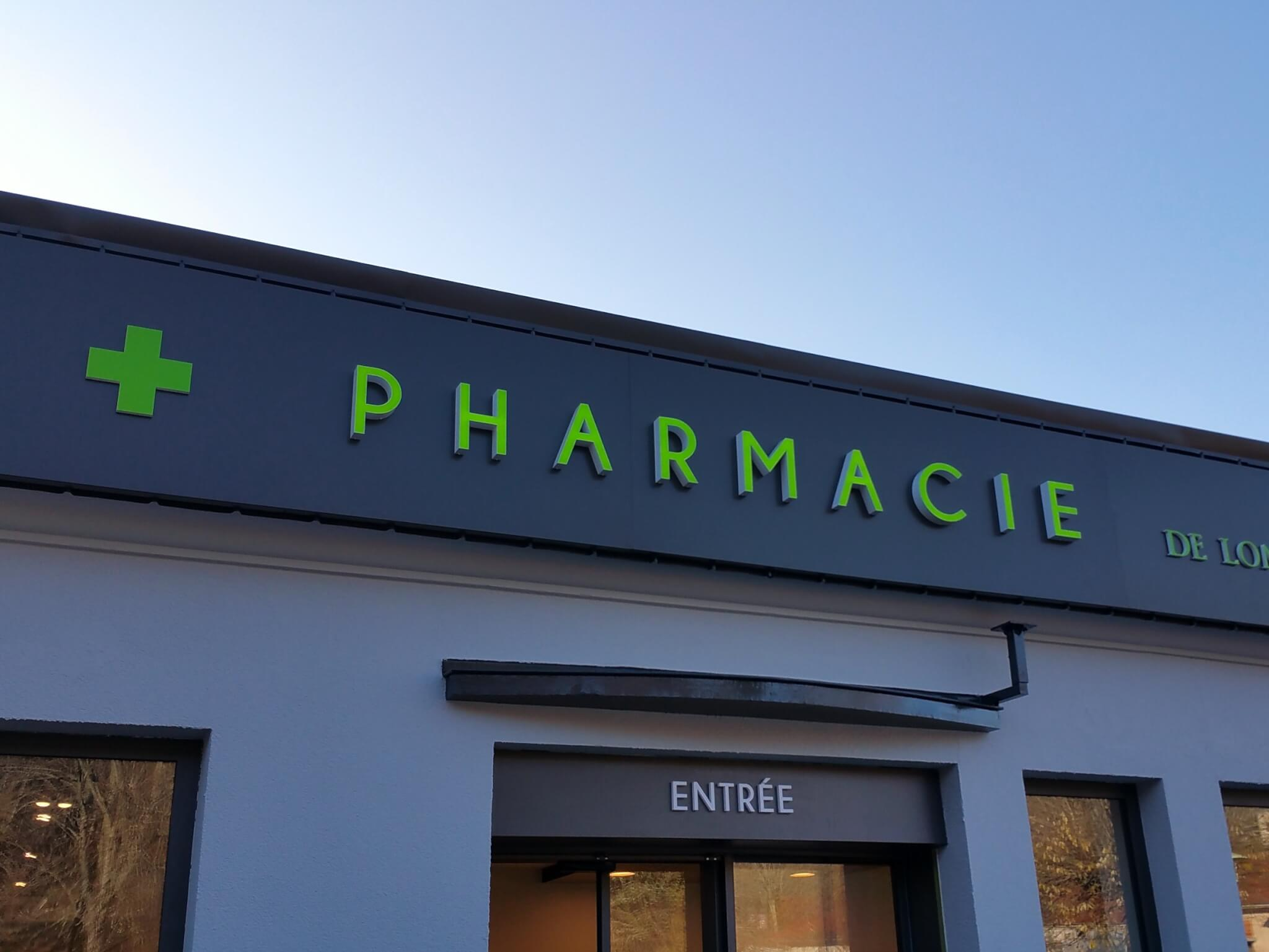 Enseignes Pharmacie Fabriquant Enseignes lumineuses pour Pharmacie - SES enseigne Lyon Grigny