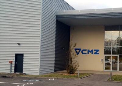 Enseigne Lyon - Pré enseigne accueil Batiment industriel - CMZ
