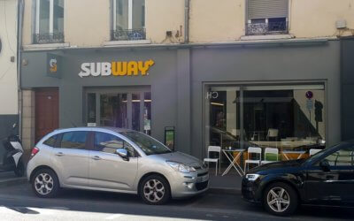 Enseignes lumineuses Subway Oullins