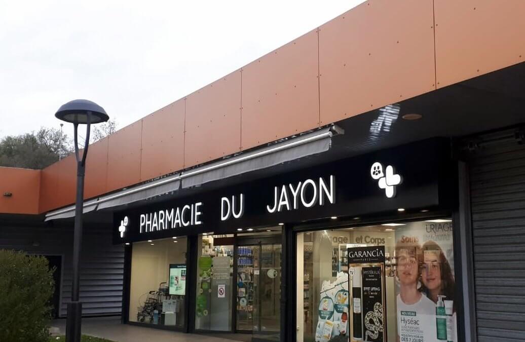 Enseigne Pharmacie du Jayon