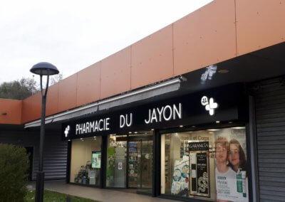 Enseignes Pharmaice du Jayon Grigny- SES enseigniste RhoneEnseignes Pharmaice du Jayon Grigny- SES enseigniste Rhone